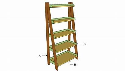 Shelves Ladder Plans Shelf Building Build Bookshelf