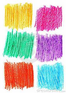 Сolour Pencil Shading Background Set Royalty Free Stock ...