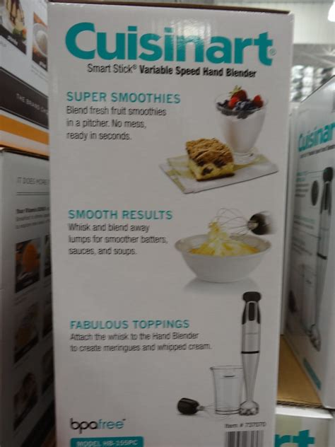 Kitchenaid Immersion Blender Costco by Cuisinart Variable Speed Blender