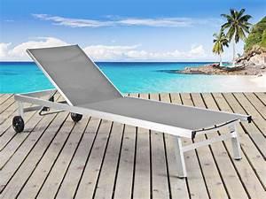 Bain De Soleil En Aluminium : bain de soleil en aluminium bross bella seychelles ~ Teatrodelosmanantiales.com Idées de Décoration