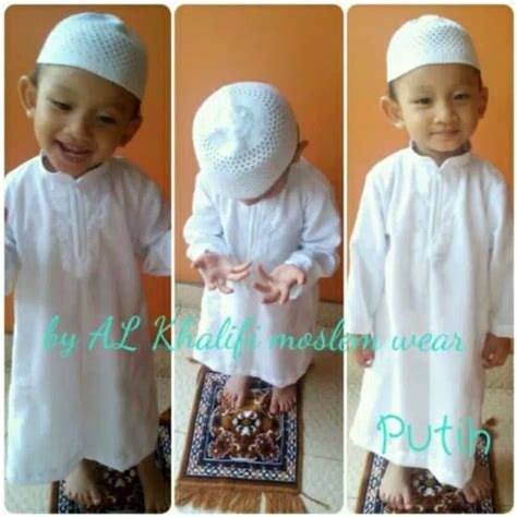 jual size 8 gamis jubah arab anak laki laki