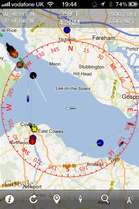 boat beacon real time marine traffic  ship finder ais