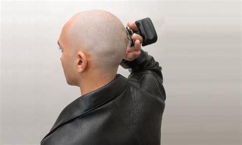 bald head shave body bald eagle essential
