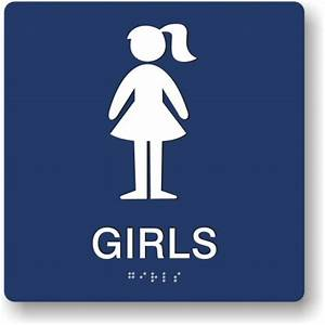 Girl restroom sign clipart best for Girls bathroom symbol