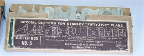 vintage tools stanley   combination plane set  special cutters  sold
