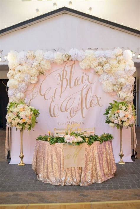 20+ Wonderful Wedding Backdrop Ideas For Perfect Wedding