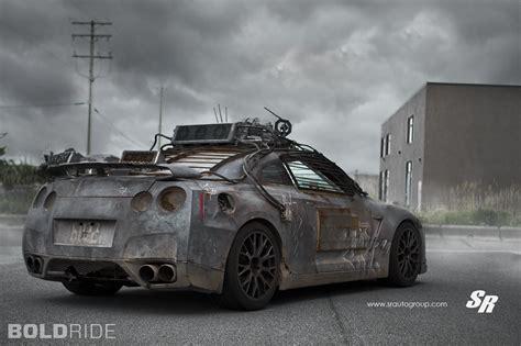 elysium gtr nissan gt custom mad max wheels skyline zombie apocalypse pur r35 movie auto 2154 sr r36 fallout gets