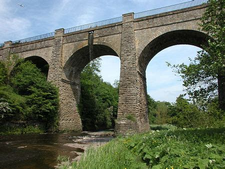lins mill aqueduct feature page  undiscovered scotland