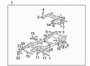 2005 Gmc Sierra 1500 Frame Rail  4wd  8 Foot Bed Std Cab