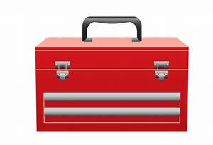 Free Red Toolbox Clip Art