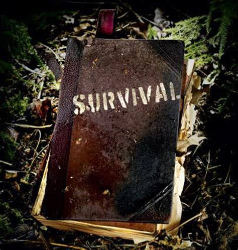 wilderness survival guide  books