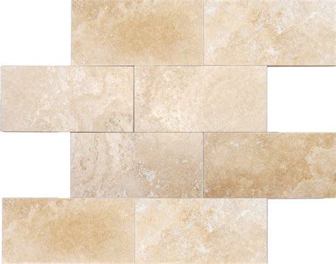 Home Depot Canada Marble Tile by Msi Ulc Ivory Travertine 3 In X 6 In Honed