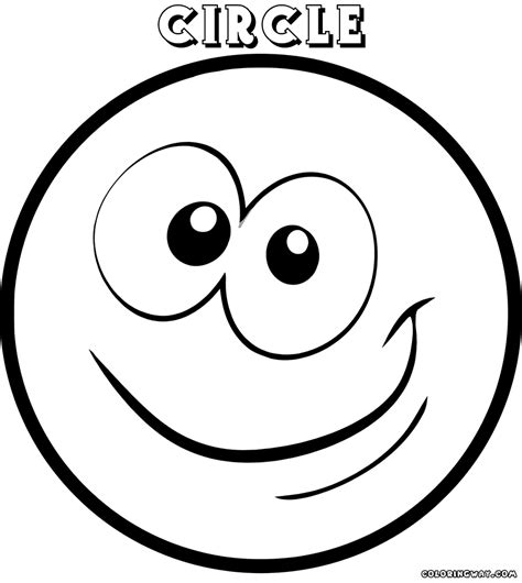 circle coloring pages coloring pages to and print