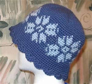 Ravelry Tapestry Crochet Snowflake Hat Pattern By Kat Mcab