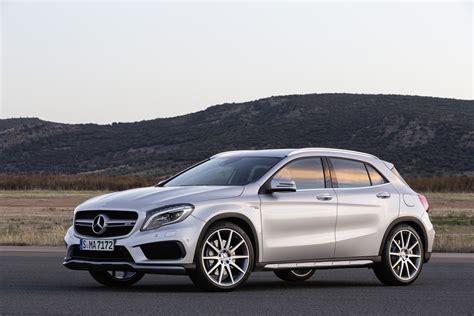 2016 Mercedesbenz Gla Gets New Tech, Extra Power For Gla45