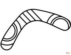 boomerang coloring page free printable coloring pages