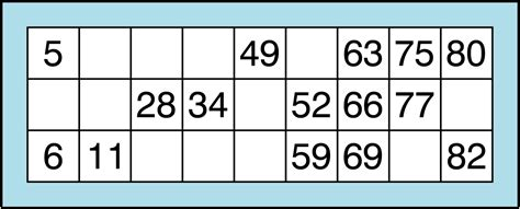 bingo template bingo card