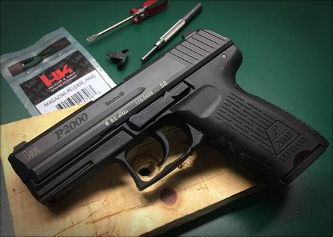 P2000 - Slim slide release levers & extended mag release