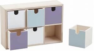 Rangement A Tiroir : rangement tiroirs color s 6 tiroirs ~ Teatrodelosmanantiales.com Idées de Décoration