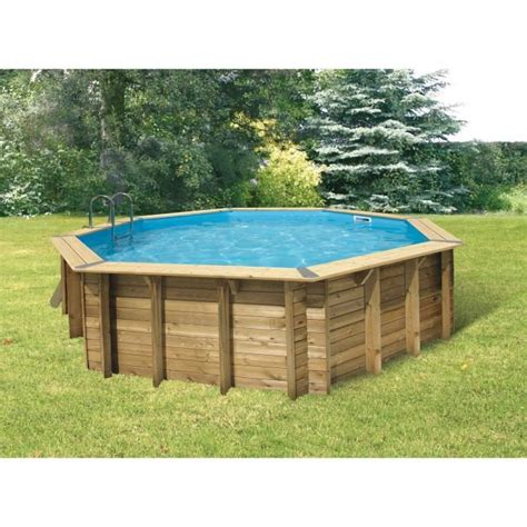piscine bois maldives