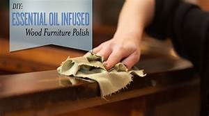 Diy essential oil infused furniture polish for Homemade furniture polish with essential oils