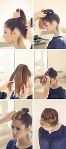 Tuto Coiffure Cheveux Court : tuto coiffure simple cheveux mi long ~ Melissatoandfro.com Idées de Décoration