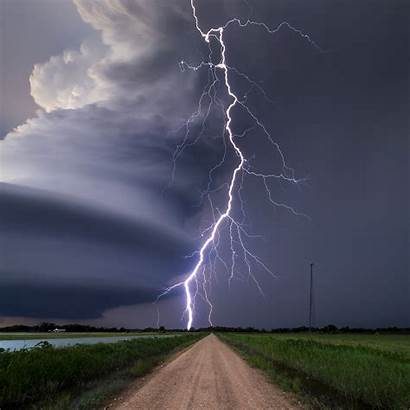 Weather Stormy Lightning Storm Sky Thunderstorms Nature