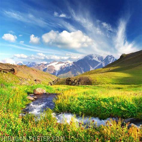 contoh gambar pemandangan indah  dekorasi jual