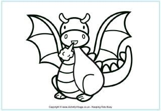 st georges day colouring pages