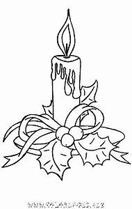 Bougie De Noel Dessin : coloriage bougies de noel gratuit 9170 noel zimna vyzdoba okna coloriage noel bougie ~ Voncanada.com Idées de Décoration