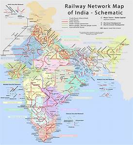Indian Railways Map Sulekha Creative