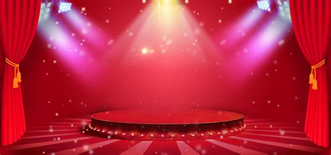 Stage Background Atmospheric Stage Lighting Background Stage Show