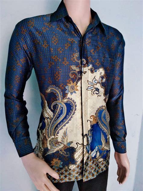 Bahan semi sutra kerah regular size chart: 30+ Model Baju Batik Pria Semi Jas - Fashion Modern dan ...