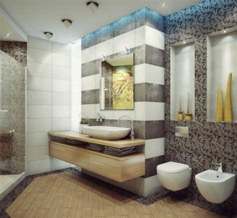 Ideen Wandgestaltung Badezimmer