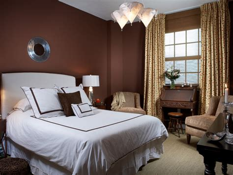 Chocolate Brown Bedroom Ideas, Wall Color Combinations