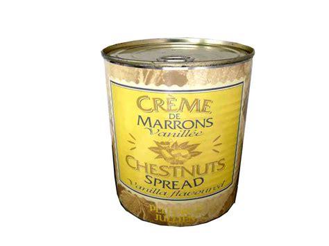 creme de marrons vanillee boite 1kg pellorce julien cm4 epicerie pro 233 picerie en ligne