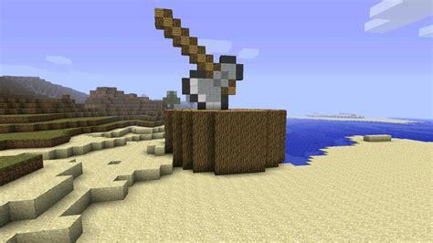 Axe In Treestump Minecraft Project