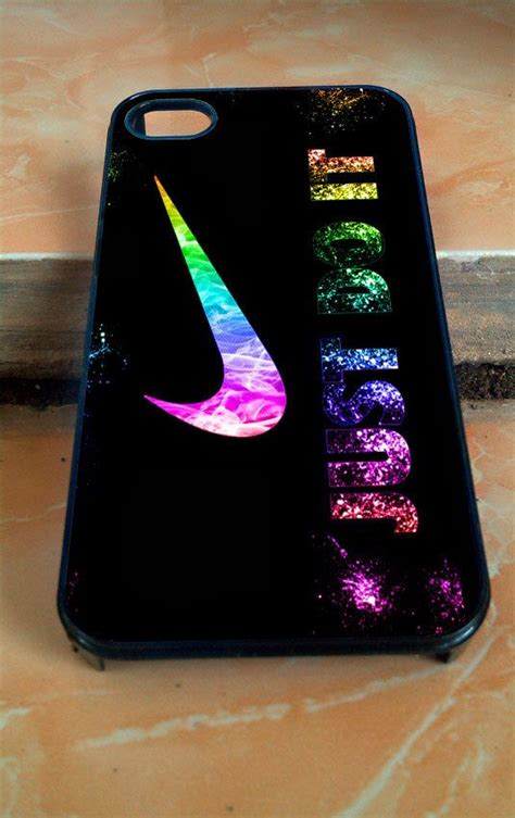 nike iphone 5c nike just do it glitter for iphone 4 4s 5 5c 5s 6 by