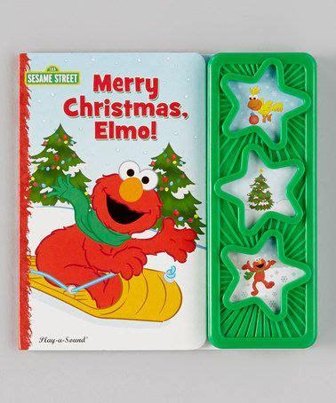 merry christmas elmo mini board book