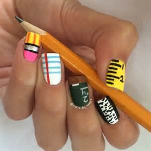 Clever nail designs ideas for school kids dzinemag
