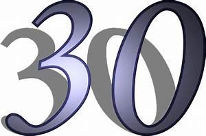 Numbers Number 30
