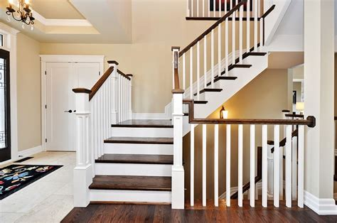 new banisters staircase railing ideas stair and railing ideas doyle