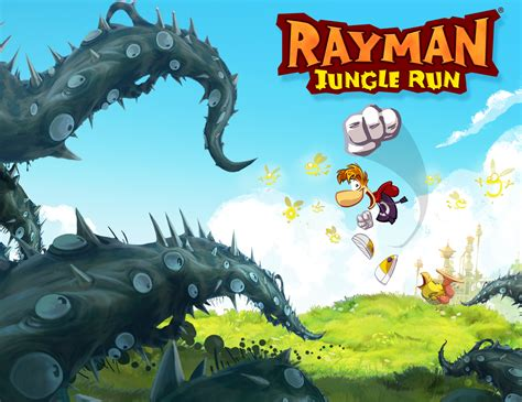 fond d 馗ran bureau fond ecran wallpaper rayman jungle run jeuxvideo fr