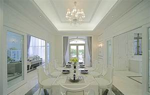 european style villa minimalist dining room interior With interior decorating european style