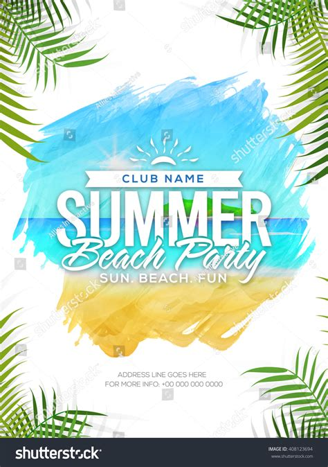 Summer Beach Party Template Summer Vacation Stock Vector. University Of Illinois Graduate Programs. Individual Education Plan Template. Family Tree Template With Siblings. Prerequisites For Speech Pathology Graduate Programs. Porter Five Forces Template. Fashion Designer Business Card. Cash Donation Receipt Template. Free Project Plan Template