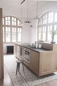 Cuisine Bois Clair : cuisine bois des cuisines tendance copier c t maison ~ Melissatoandfro.com Idées de Décoration