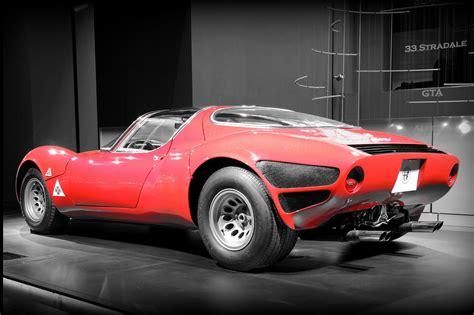 New Exhibit Celebrates Alfa Romeo 33 Stradale's 50th ...