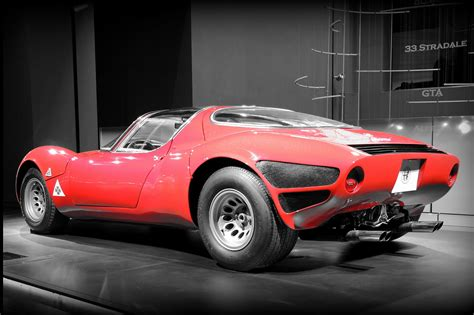 alfa romeo new exhibit celebrates alfa romeo 33 stradale s 50th