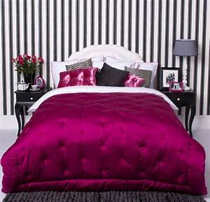 33 glamorous bedroom design ideas digsdigs With black white and pink bedroom