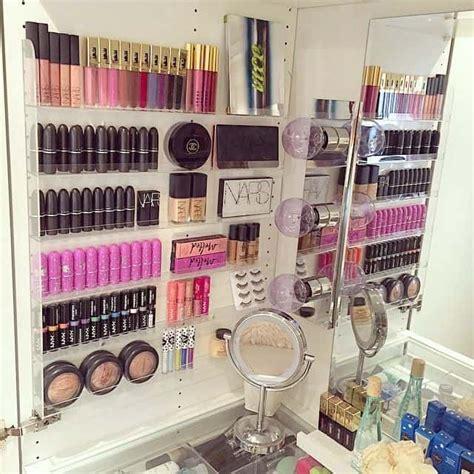 ideas  organize makeup   small bathroom organization obsessed